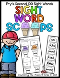 Sight Word Scoops (Fry's 2nd 100 Sight Words)