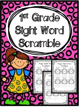 Sight Word Scramble