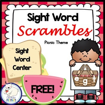 Sight Word Center: Free