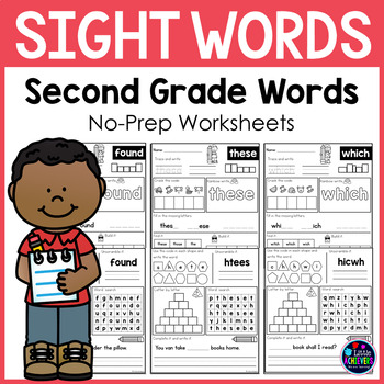 Sight Word Second Grade Worksheets