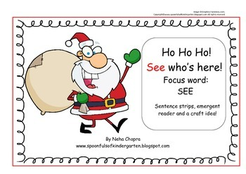 Christmas Sight Word- See