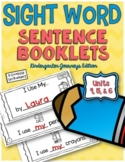 Sight Word Sentence Booklets Units 4-6 {Compatible With Ki