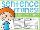 Sight Word Sentence Frames!