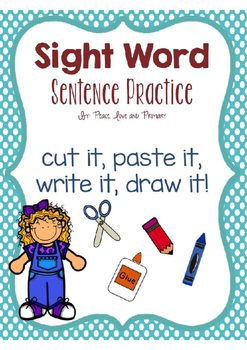 Sight Word Sentence Practice