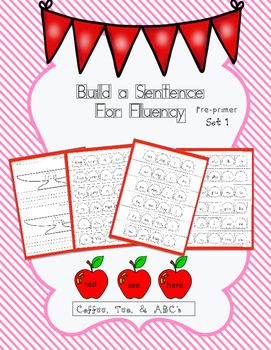 Sight Word Sentence Puzzles for Fluency and Writing