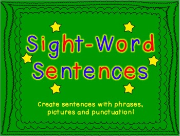 Sight Word Sentences (A Literacy Center)