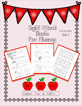 Sight Word Sentences: Build it..Write it..Read it!