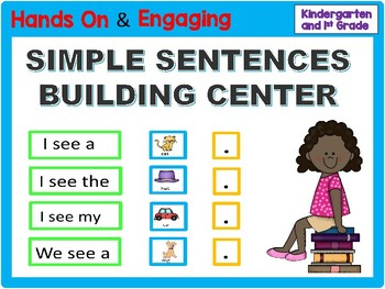 Simple Sentences Building Center
