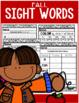 Sight Word  Activities (Set 2)