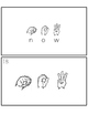Sight Word Sign Language Center