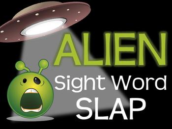 Fry Words Sight Word Slap Alien Game