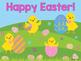 Sight Word Slide Show, Color & Number Words, Spring & Easter