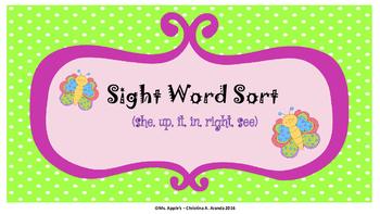 Sight Word Sort