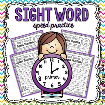 Sight Word Speed Practice {Primer}