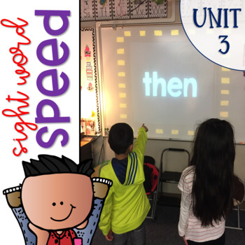 Sight Word Speed an Interactive Game for Reading Wonders 1