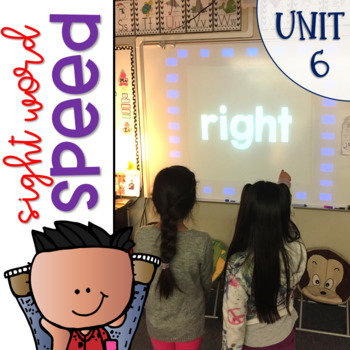 Sight Word Speed an Interactive Game for Reading Wonders {Unit 6}