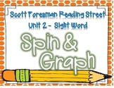 Sight Word Spin and Graph- 1st Grade Reading Street Unit 2