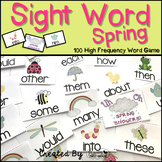 "Sight Word Activities ""Sight Word Spring"" - Sight Words Re"