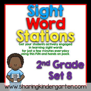 Sight Word Stations {2nd Grade~8}