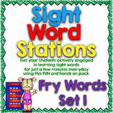 Sight Word Stations {Fry~1}