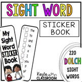 Sight Word Sticker Book (Dolch)