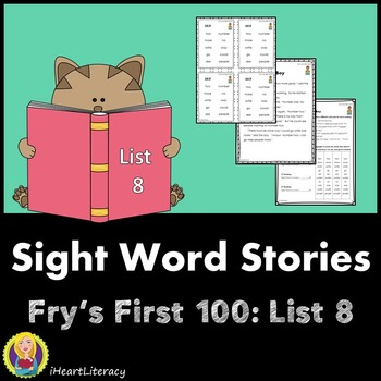 Sight Words Stories Fry's 1st 100 List 8
