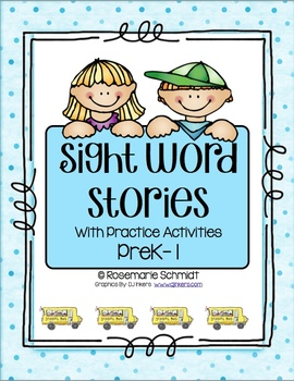 Sight Word Stories PreK-1