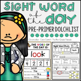 Word of the Day - Pre Primer