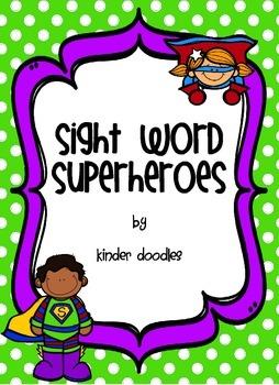 Sight Word Superheroes