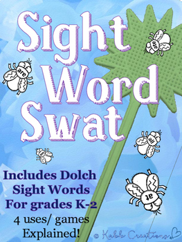 Sight Word Swat Games