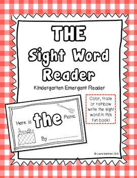"""Sight Word """"The"""" Emergent Reader"""