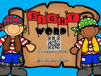 Write the Room Sight Words: QR Codes