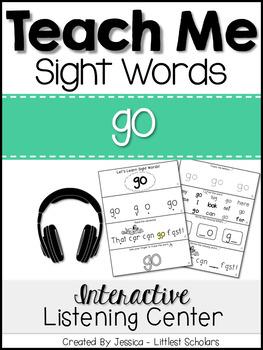 Teach Me Sight Words: GO [Interactive Center with Printabl