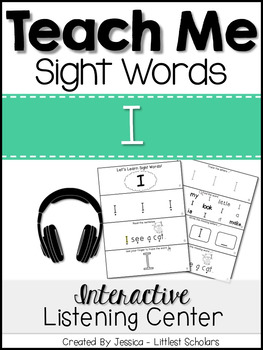 Teach Me Sight Words: I [Interactive Center with Printable