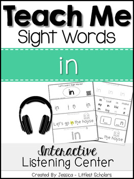 Teach Me Sight Words: IN [Interactive Center with Printabl