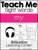 Teach Me Sight Words: MY [Interactive Center with Printabl