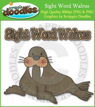 Sight Word Walrus Reading Strategy