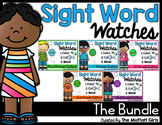 Sight Word Watches-The BUNDLE! (Pre-Primer - 3rd Grade)