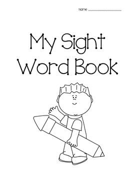 Sight Word Work