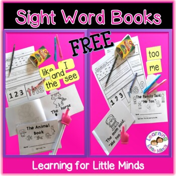 Sight Word Work using Emergent Book