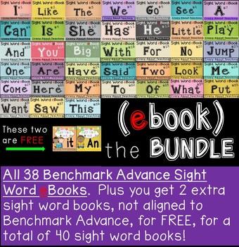 Sight Word eBooks Bundle