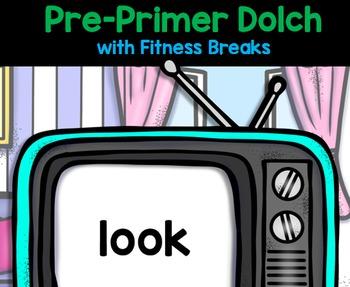 Sight Words - Pre-Primer