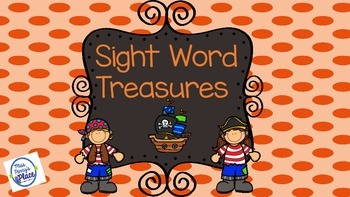 Sight Words - A Pirate's Treasure