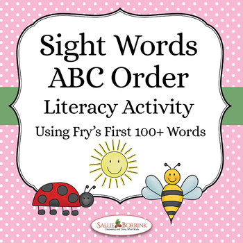 ABC Order Sight Words