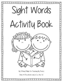 Sight Words Activity Book #1