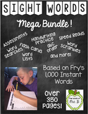 Sight Words Bundle Frys 1,000 Instant Words