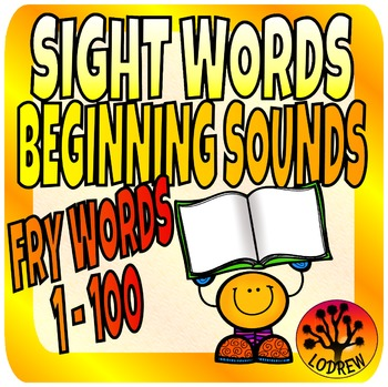Sight Words Center Literacy No Prep Fry Words First 100 1-