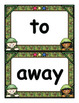 Sight Words +Color and Number Words Flash Cards for K - Fo