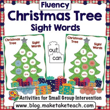 Sight Words - Decorate the Christmas Tree