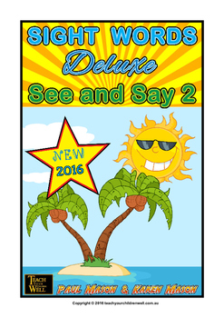 Sight Words Deluxe - See and Say 2